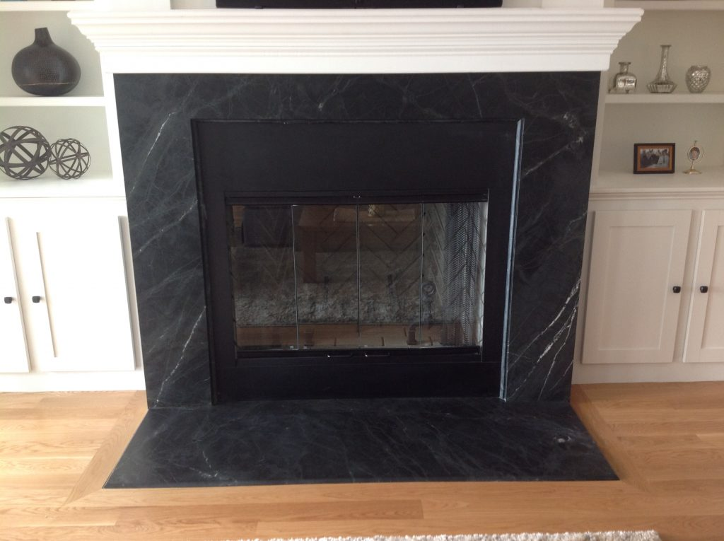 Granite Fireplace Surround and Hearth 1