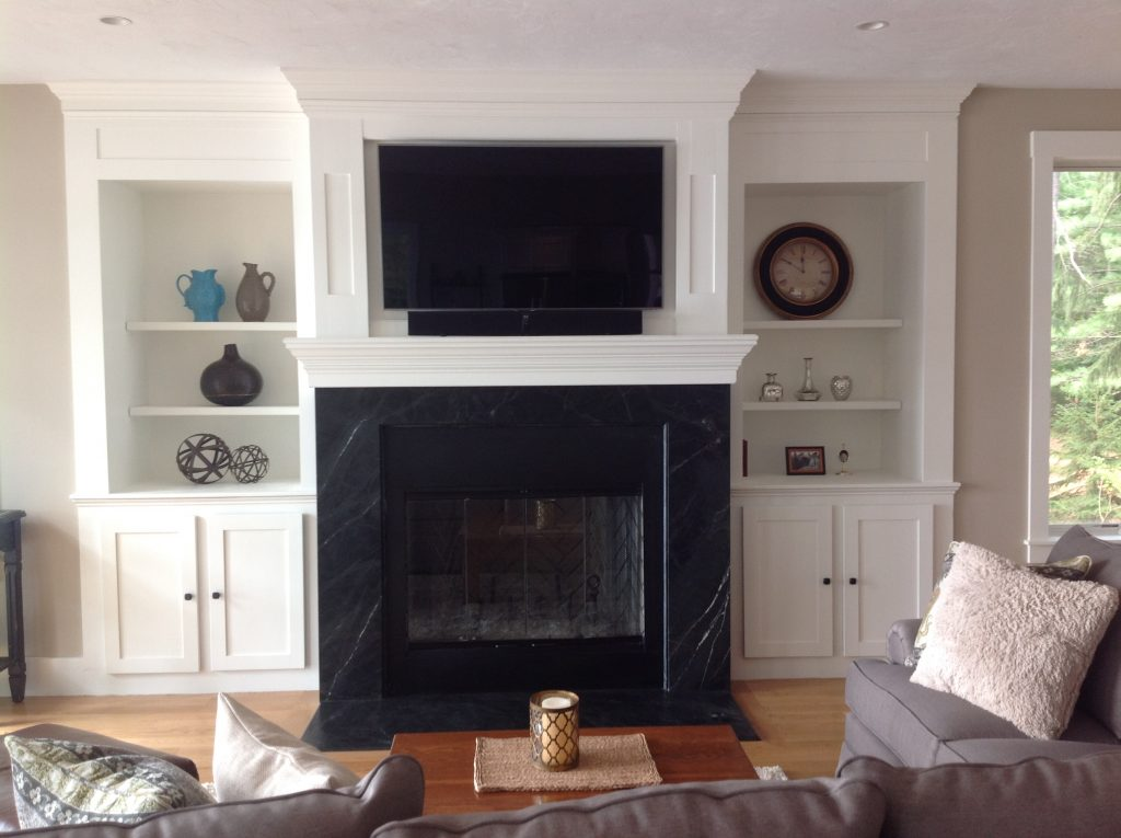 Granite Fireplace Surround and Hearth 3