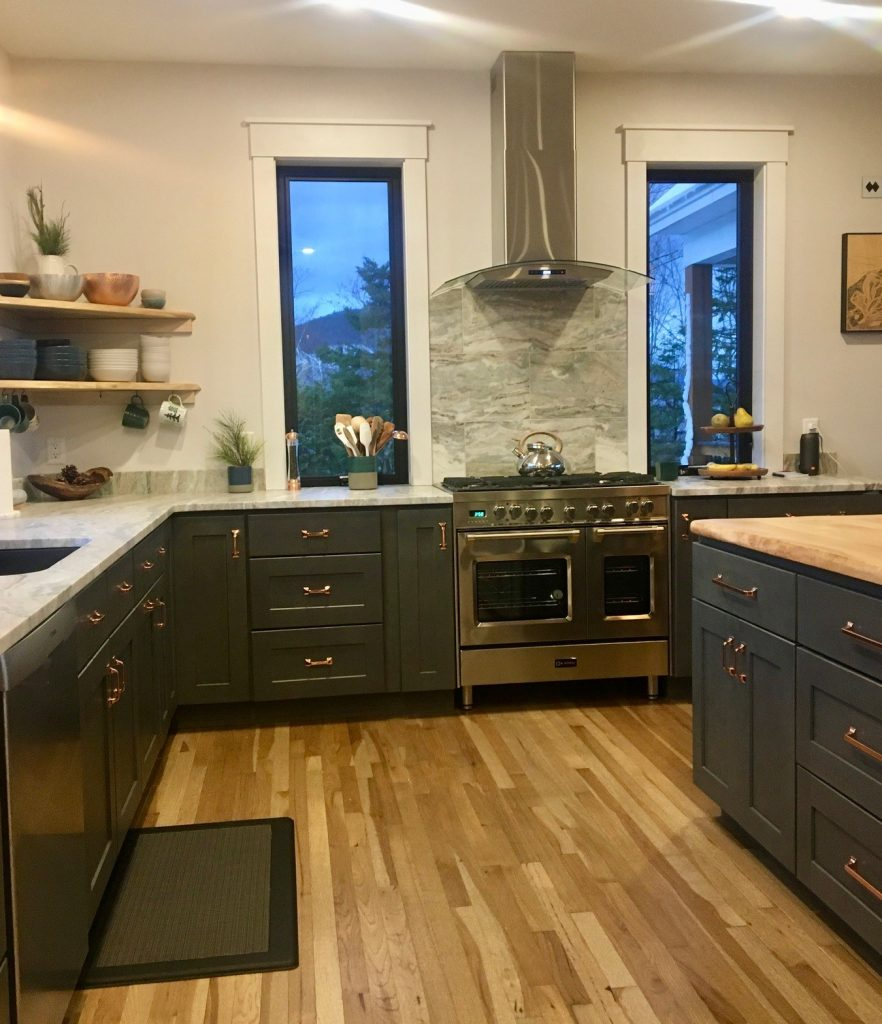 Leathered Fantasy Brown Granite and Stone Surface Supplied Cabinets2