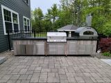 Stone Surface Granite Outdoor Grill 2